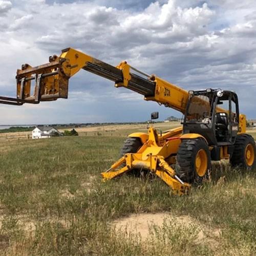 JCB 550 Telehandler Forklift Rentals